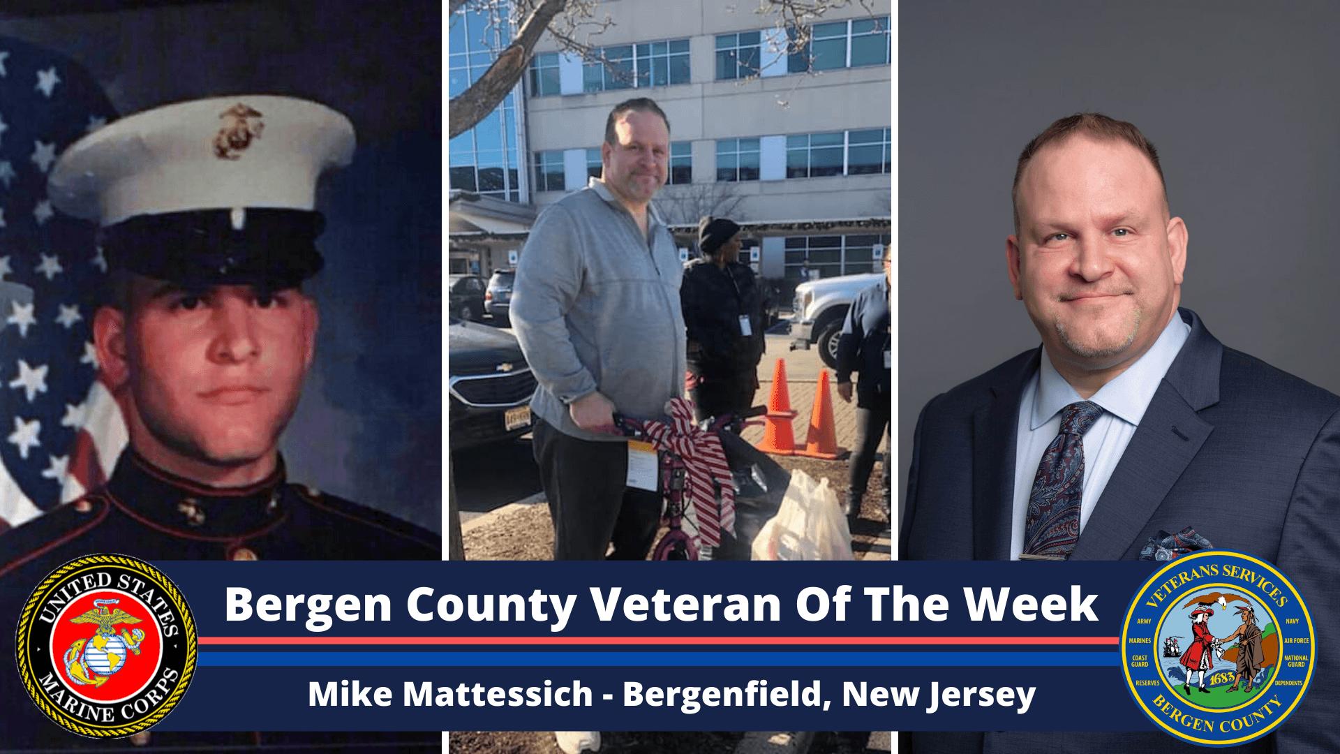 Bergen County Veteran of the Week: Mike Mattessich