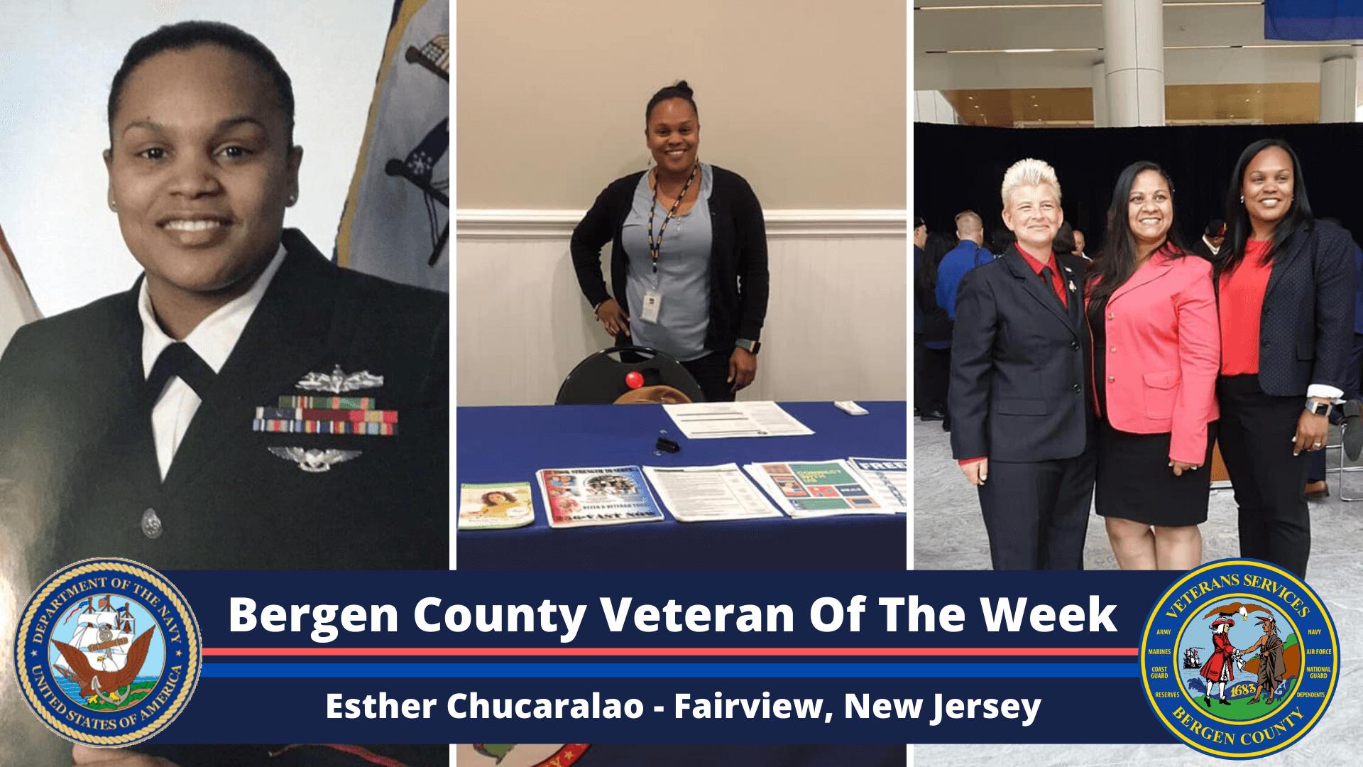 Bergen County Veteran of the Week: Esther Chucaralao
