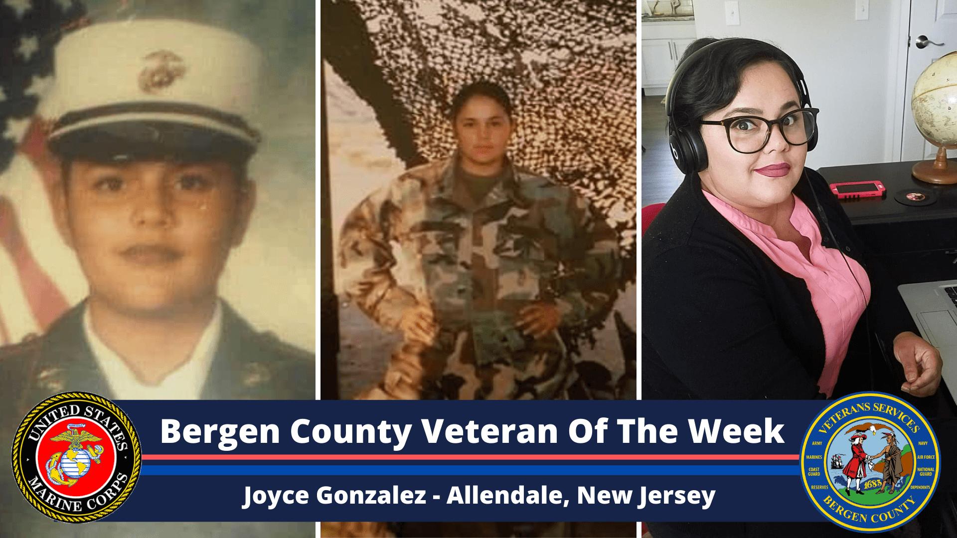 Bergen County Veteran of the Week: Joyce Gonzalez