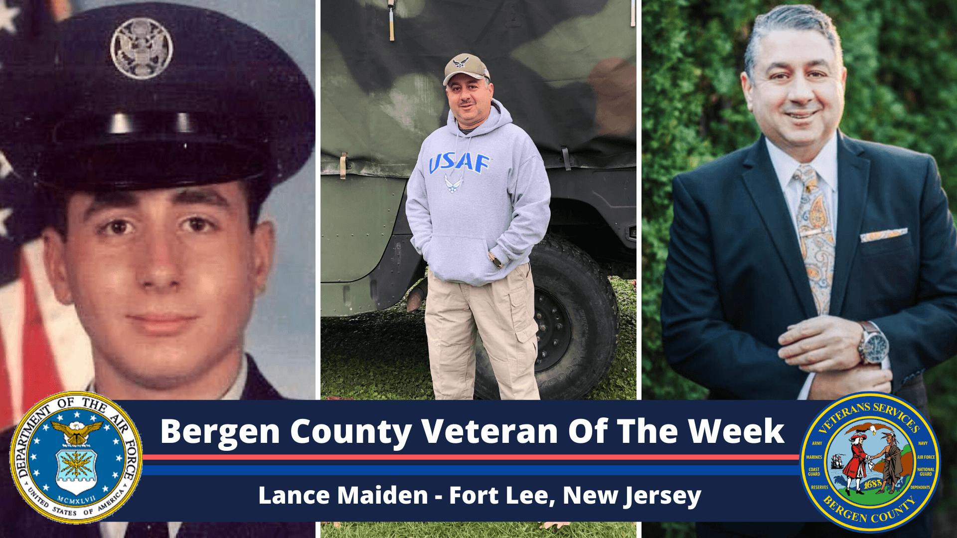 Bergen County Veteran of the Week: Lance Maiden