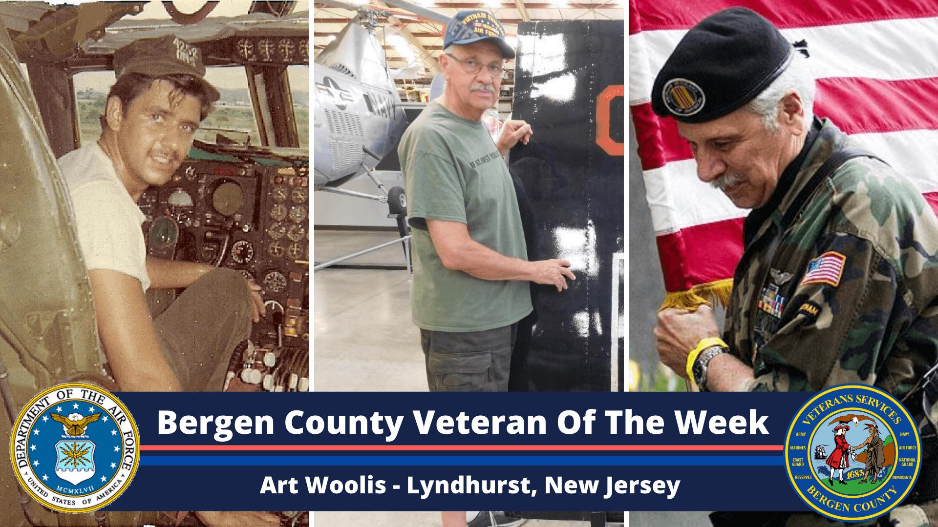 Bergen County Veteran of the Week: Art Woolis