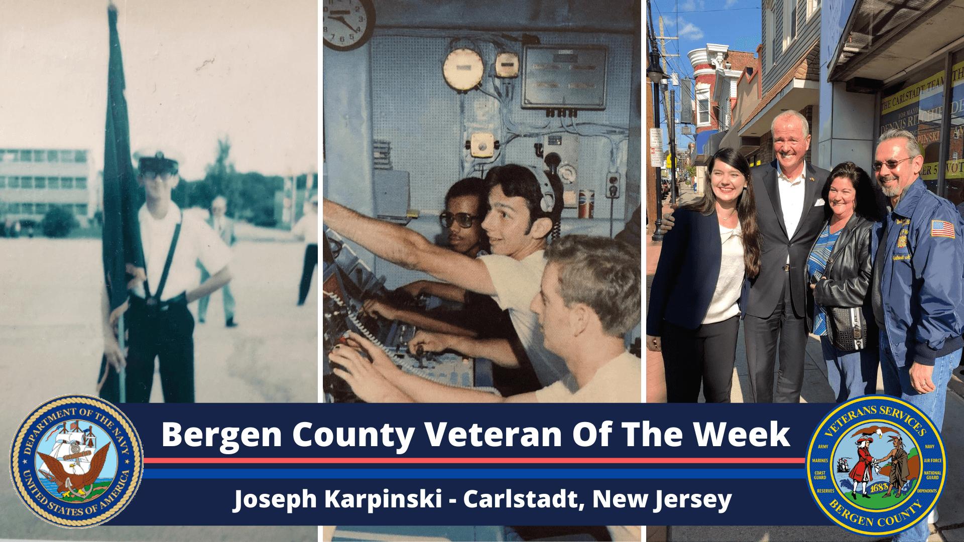 Bergen County Veteran of the Week: Joseph Karpinski