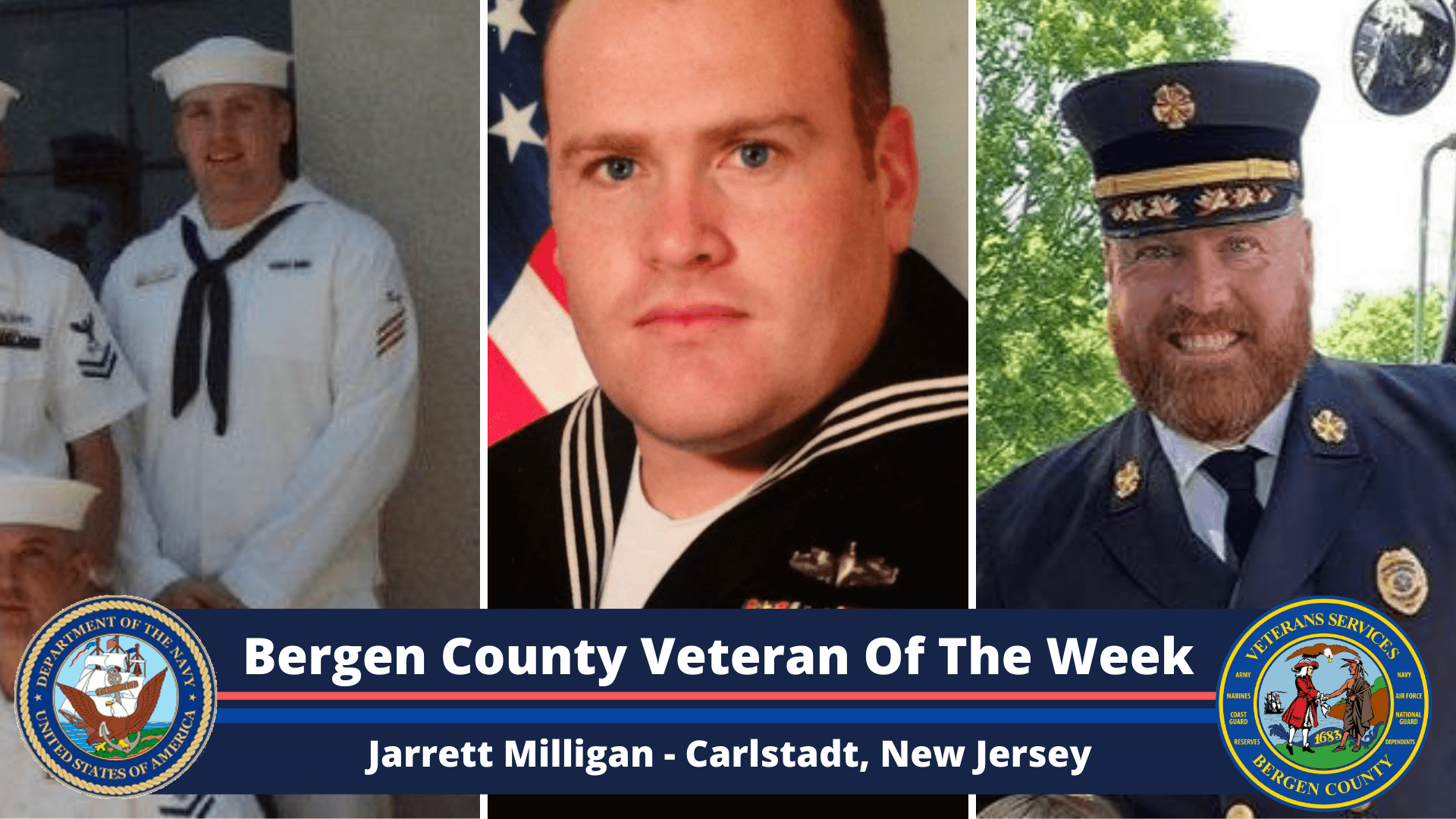 Bergen County Veteran of the Week: Jarrett Milligan