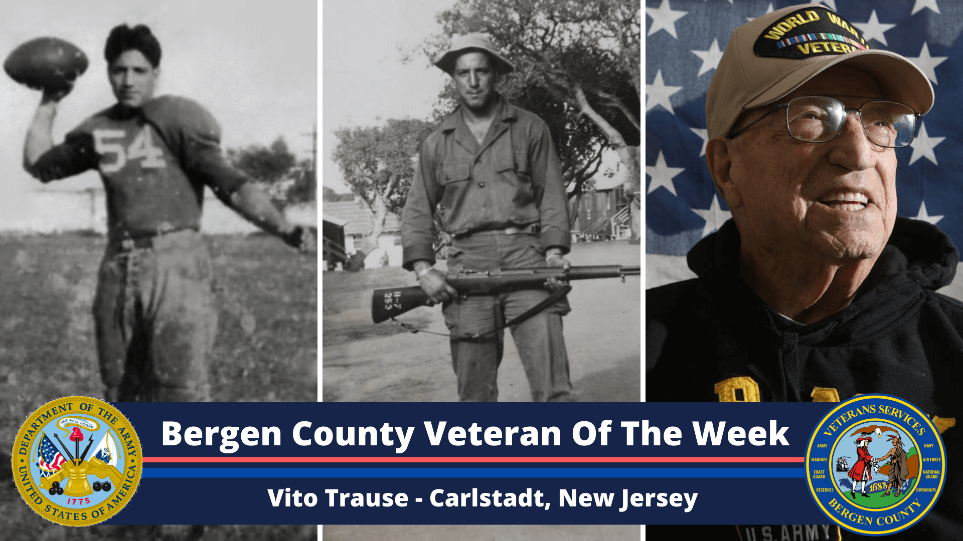 Bergen County Veteran of the Week: Vito Trause