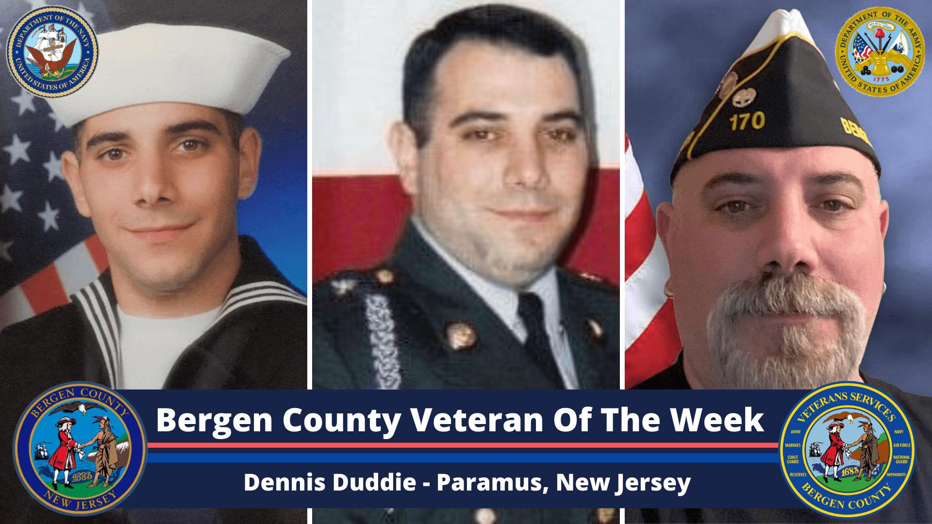 Bergen County Veteran of the Week: Dennis Duddie