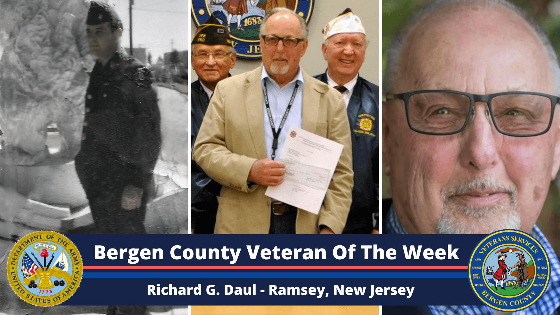 Bergen County Veteran of the Week: Richard G. Daul