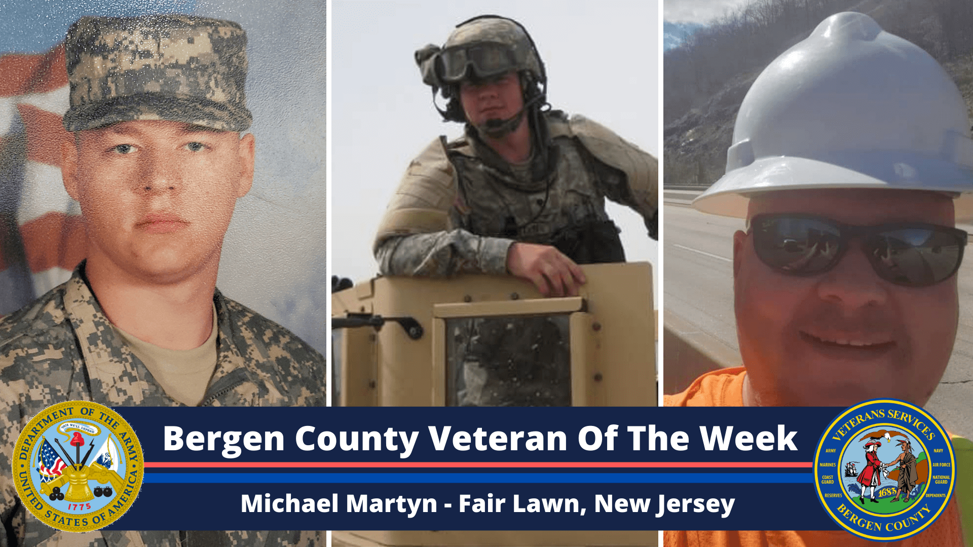 Bergen County Veteran of the Week: Michael Martyn