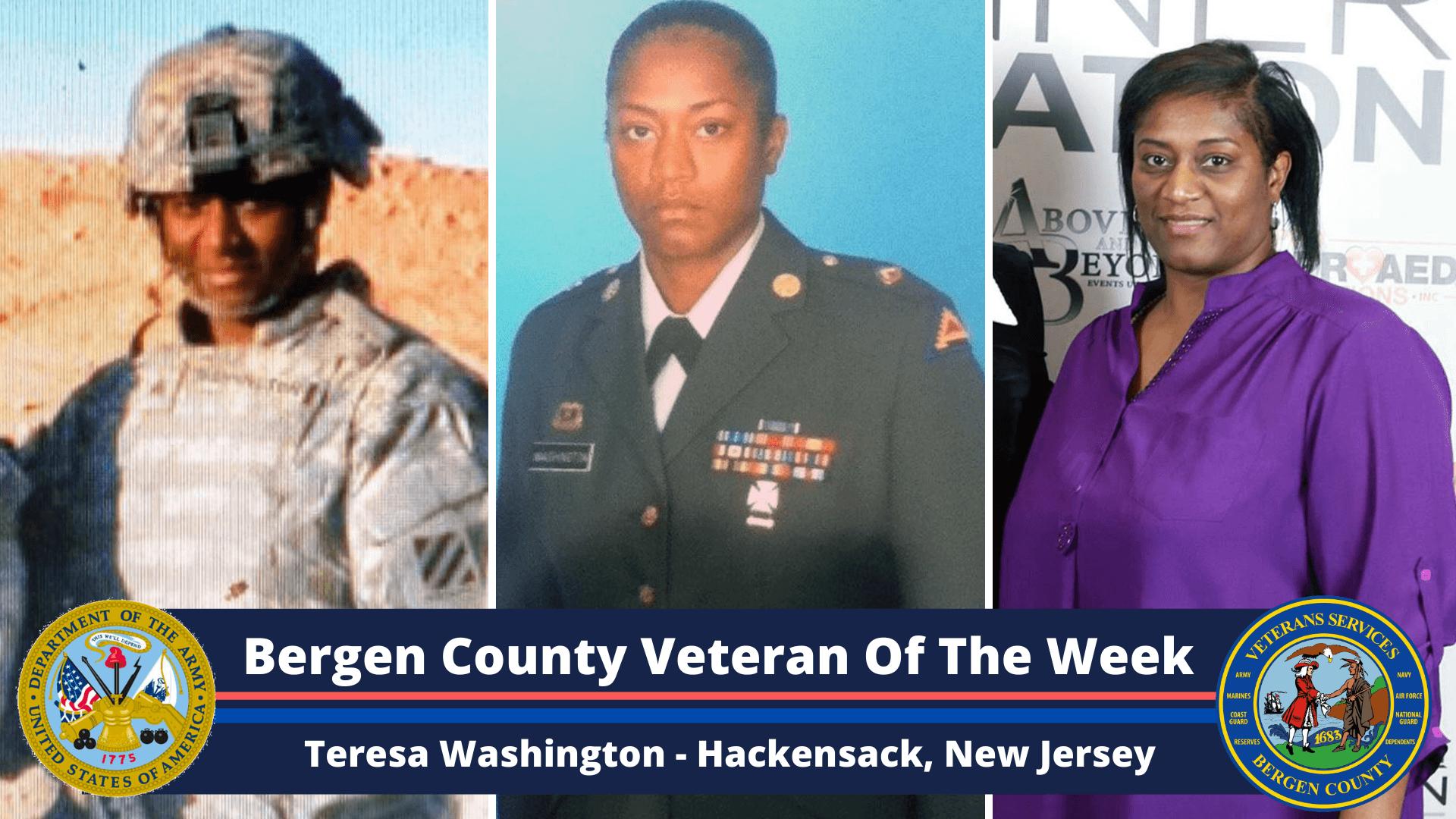 Bergen County Veteran of the Week: Teresa Washington