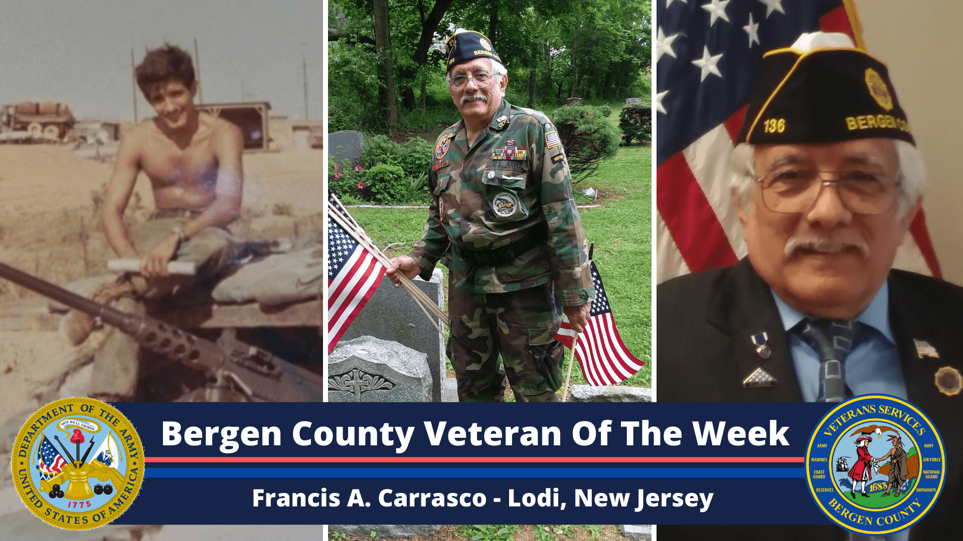 Bergen County Veteran of the Week: Francis A. Carrasco