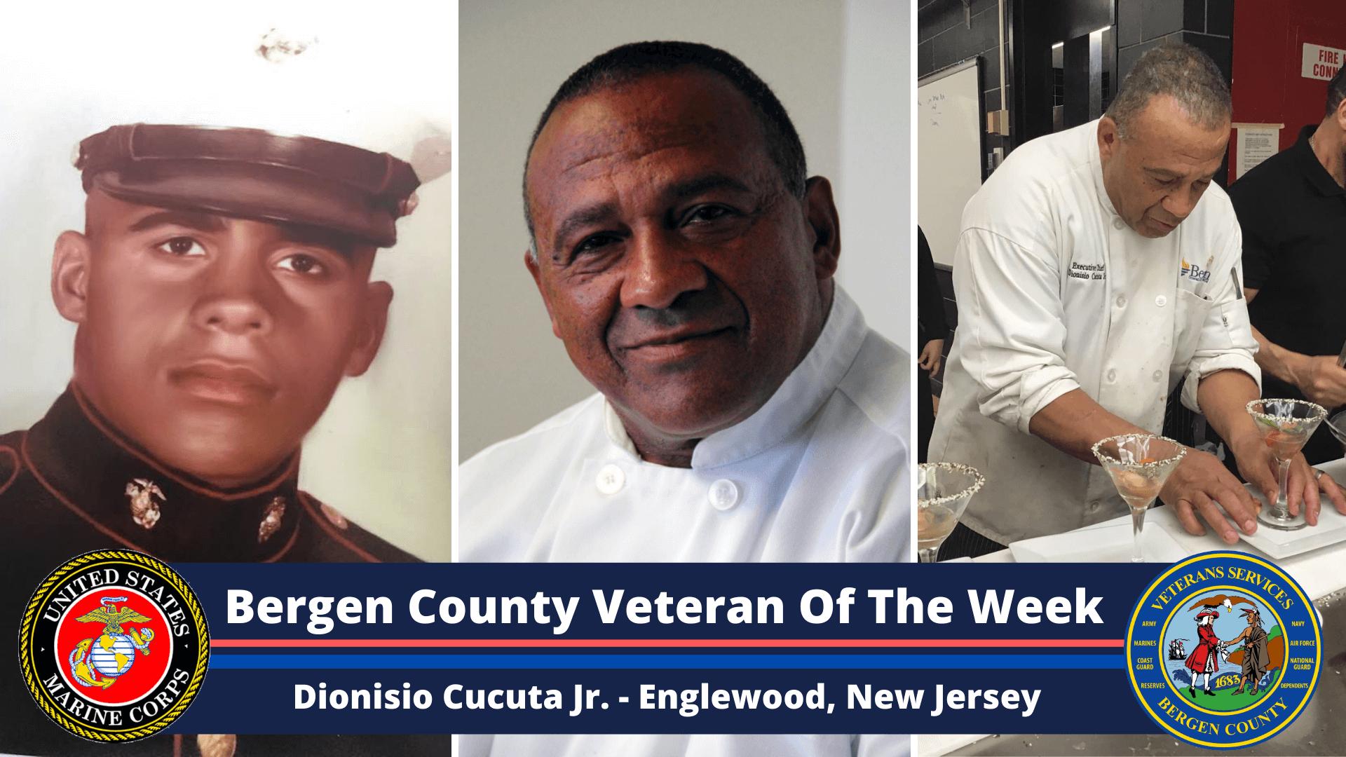 Bergen County Veteran of the Week: Dionisio Cucuta Jr.