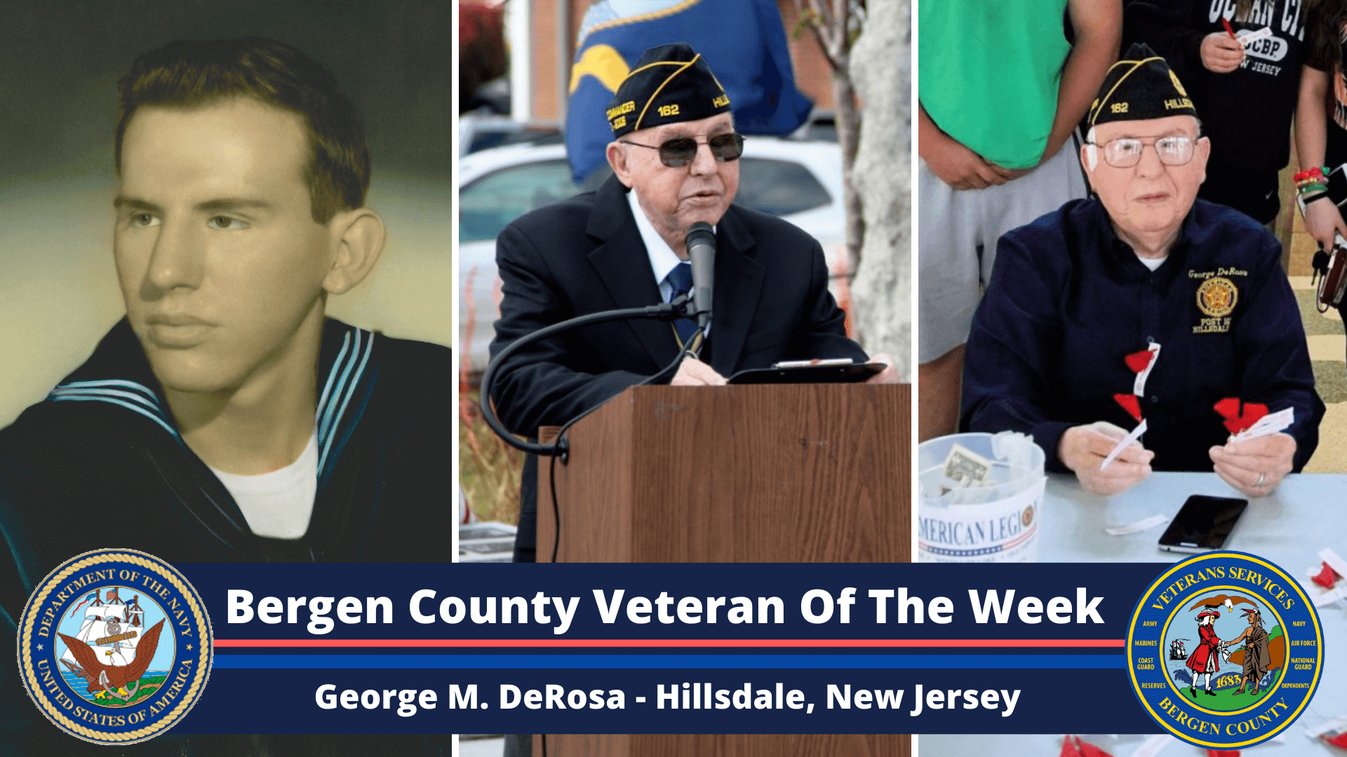 Bergen County Veteran of the Week: George M. DeRosa