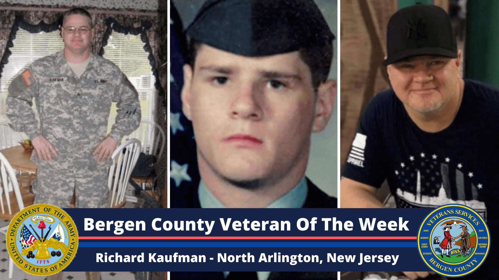 Bergen County Veteran of the Week: Richard Kaufman
