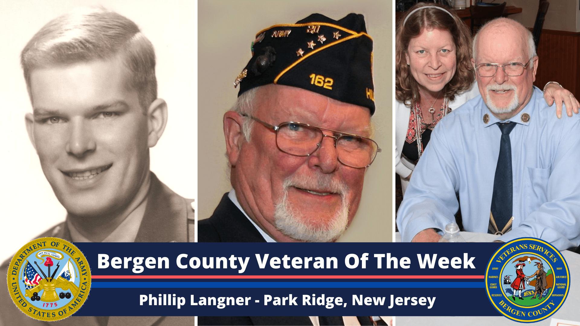 Bergen County Veteran of the Week: Phillip Langner