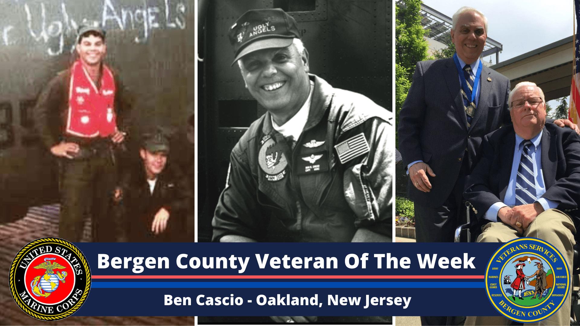 Bergen County Veteran of the Week: Ben Cascio