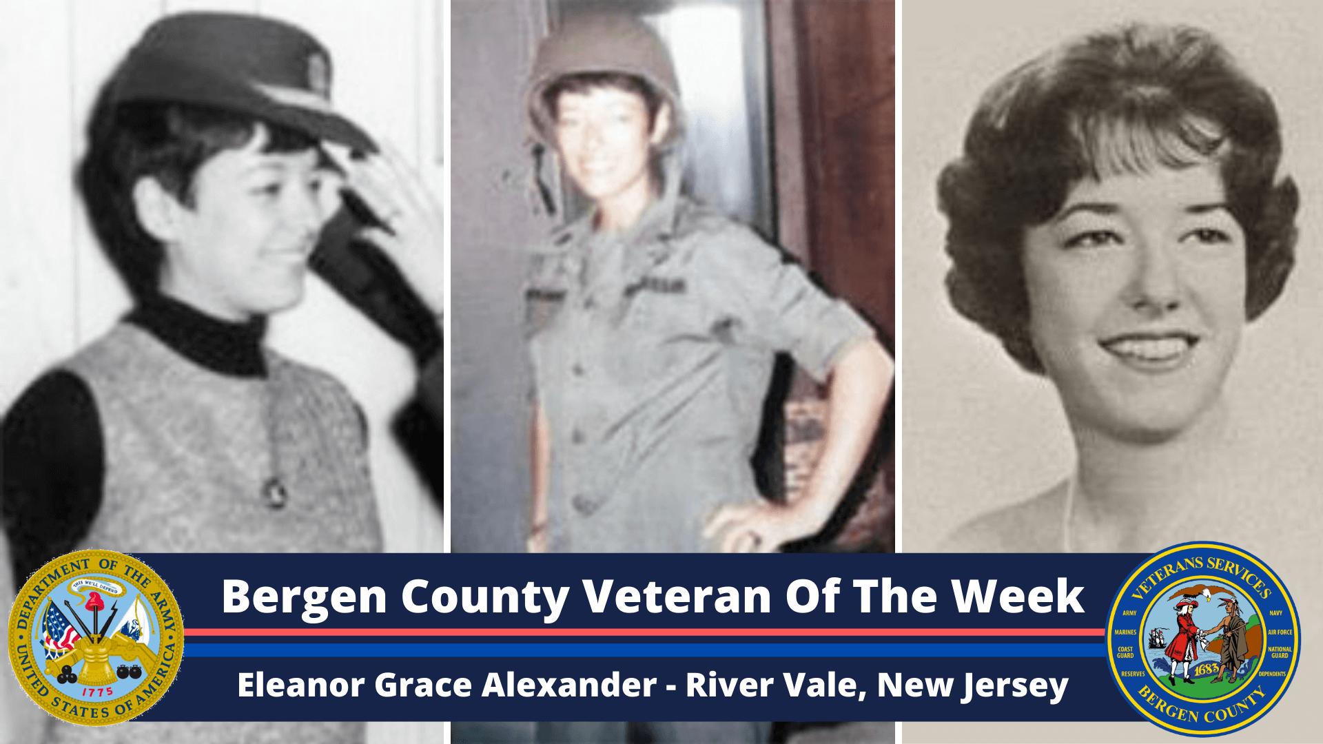 Bergen County Veteran of the Week: Eleanor Grace Alexander