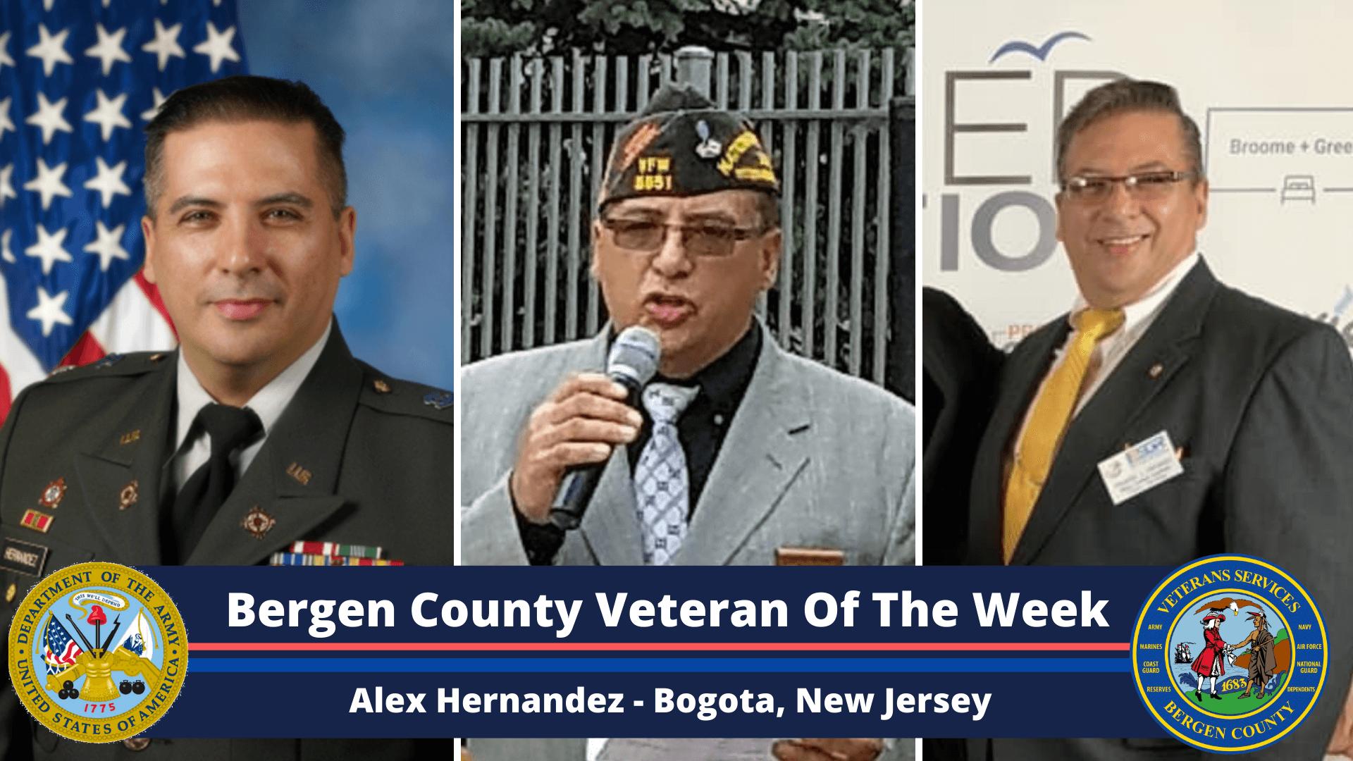Bergen County Veteran of the Week: Alex Hernandez