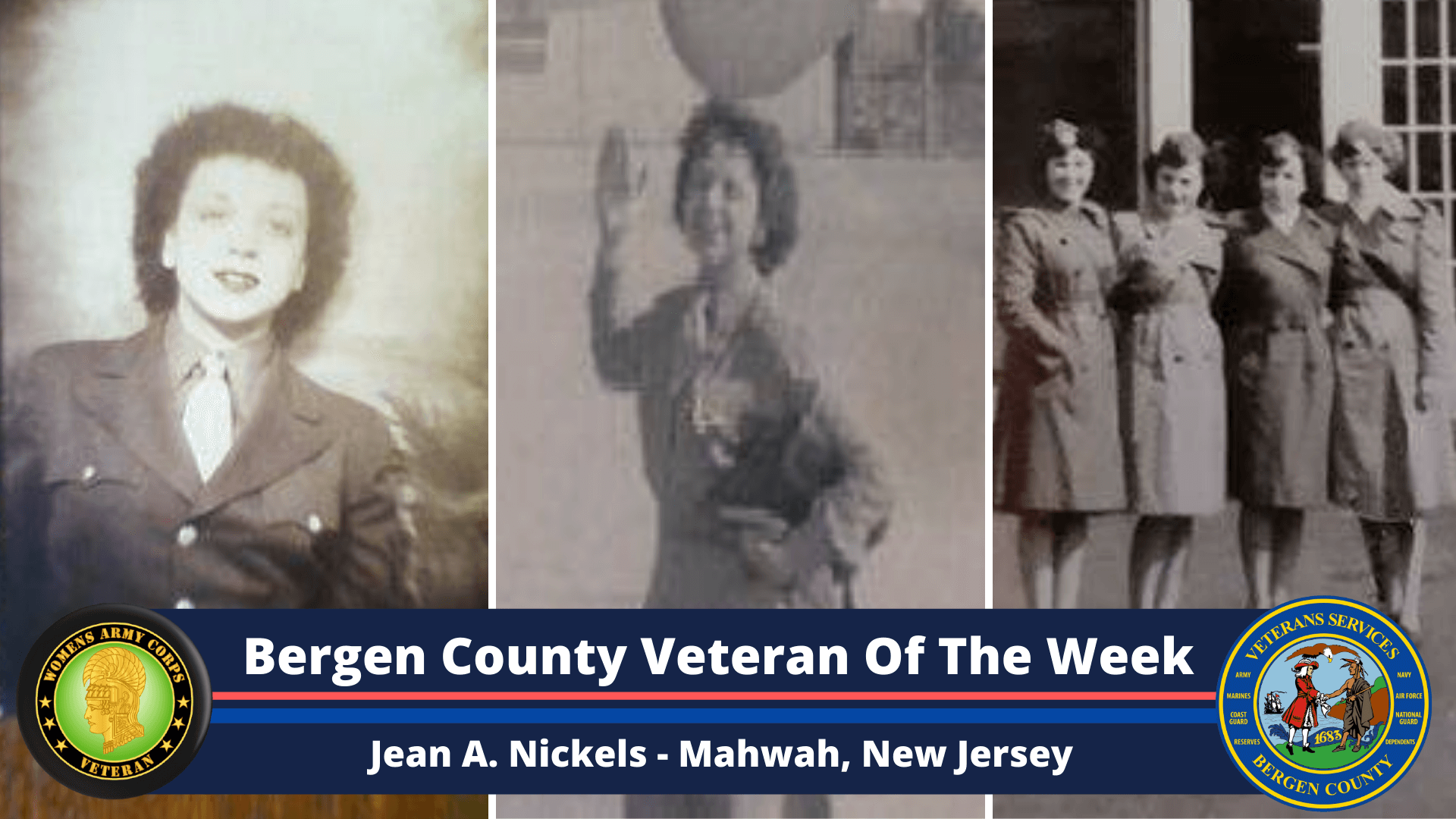 Bergen County Veteran of the Week: Jean A. Nickels