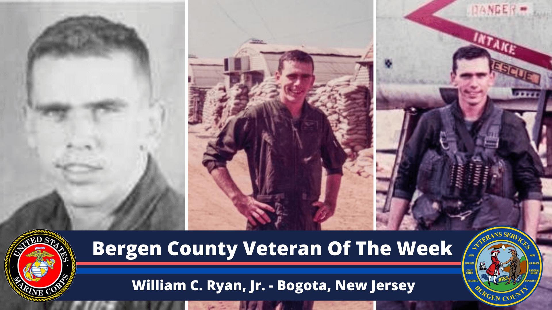 Bergen County Veteran of the Week: William C. Ryan, Jr.