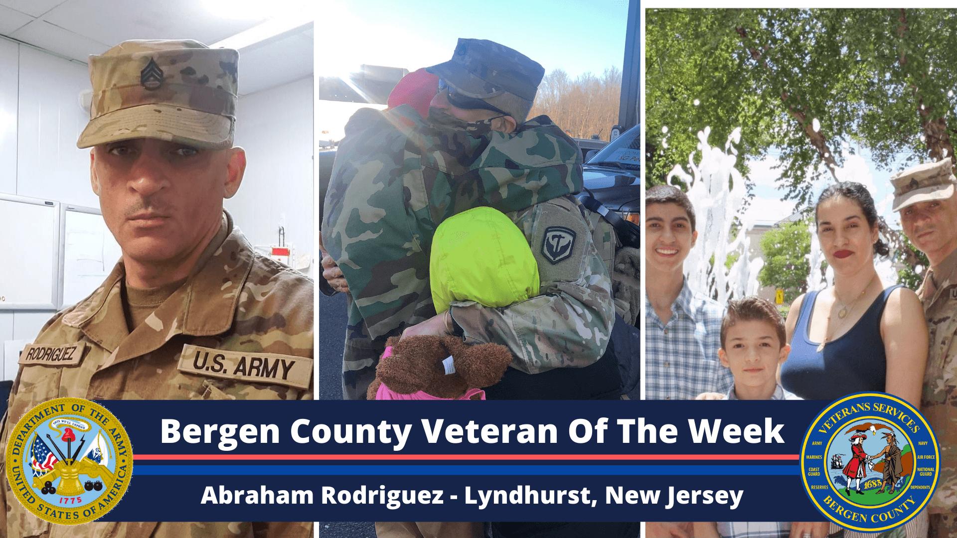 Bergen County Veteran of the Week: Abraham Rodriguez