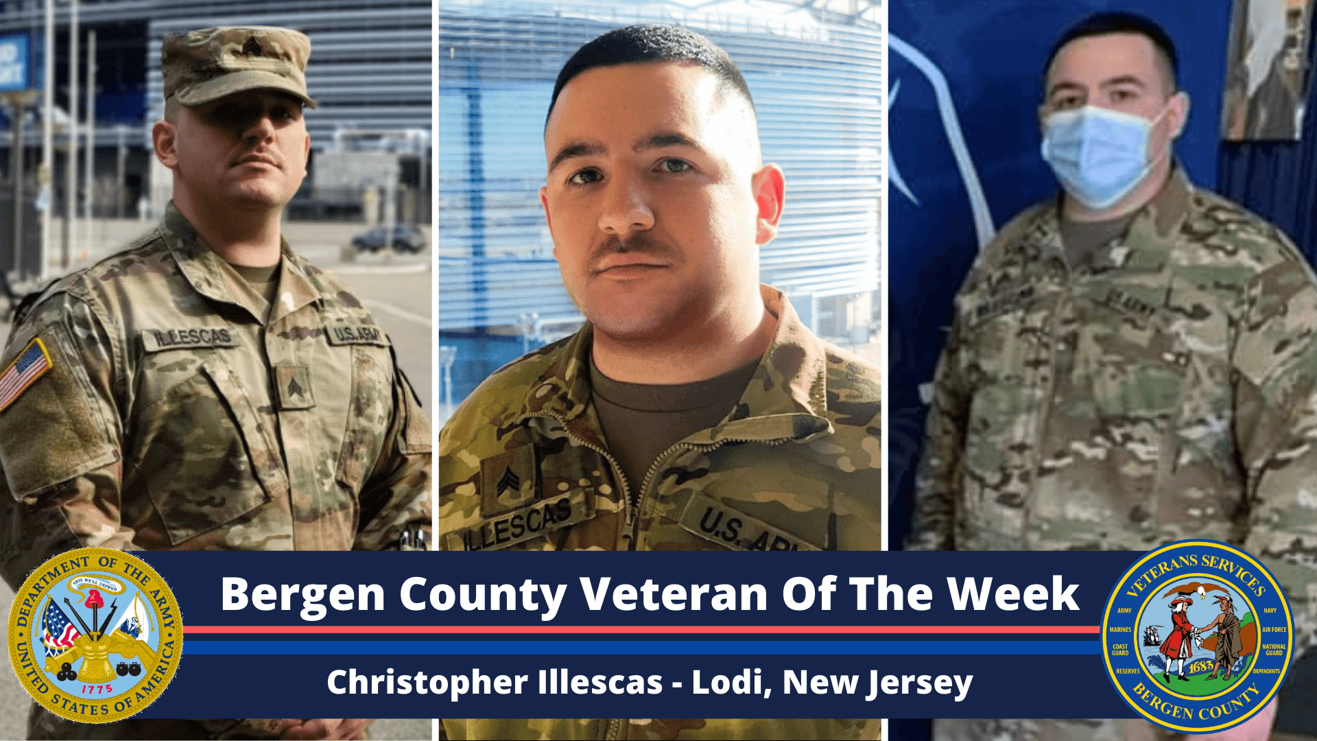 Bergen County Veteran of the Week: Christopher Illescas