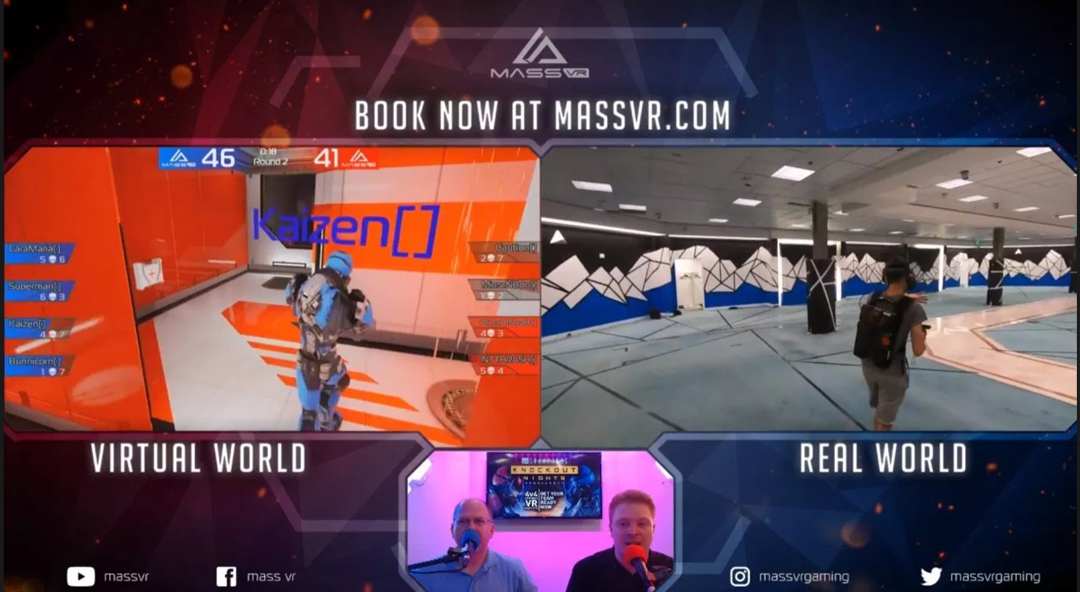 VRespawn: MassVR To Host Knockout Nights Tournament In World's Largest Esports Arena