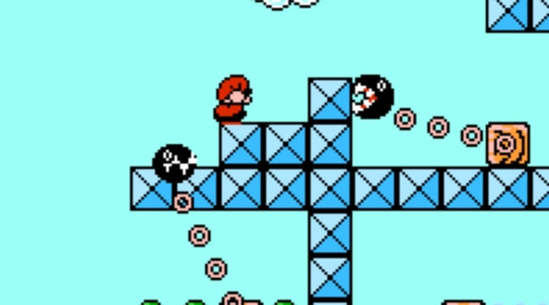 Super Mario Bros 3 chain chomps