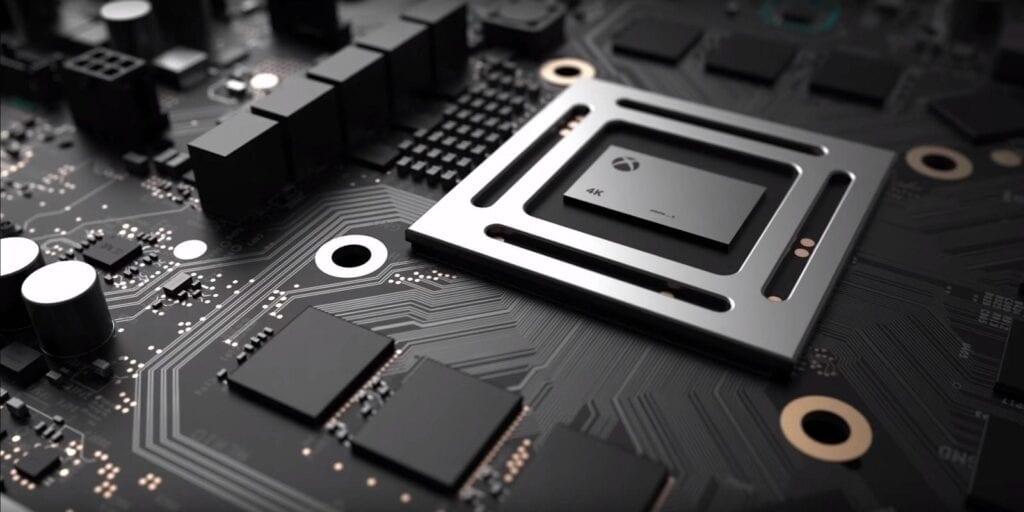 Xbox project scorpio 4k