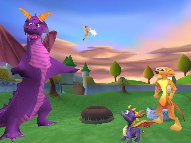 Spyro YOTD screenshot