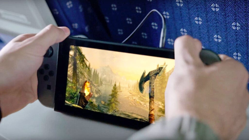 Nintendo Switch Skyrim Elder Scrolls Six