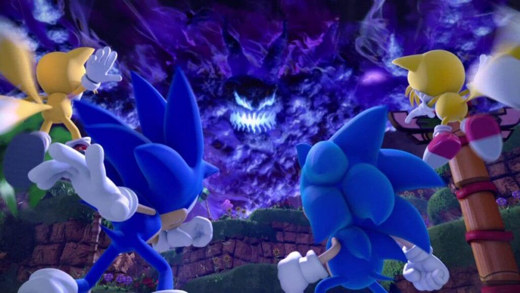 Sonic Generations vs Time Eater