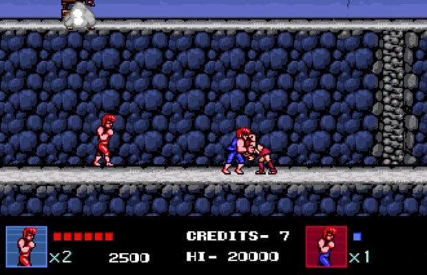 double dragon IV Combat