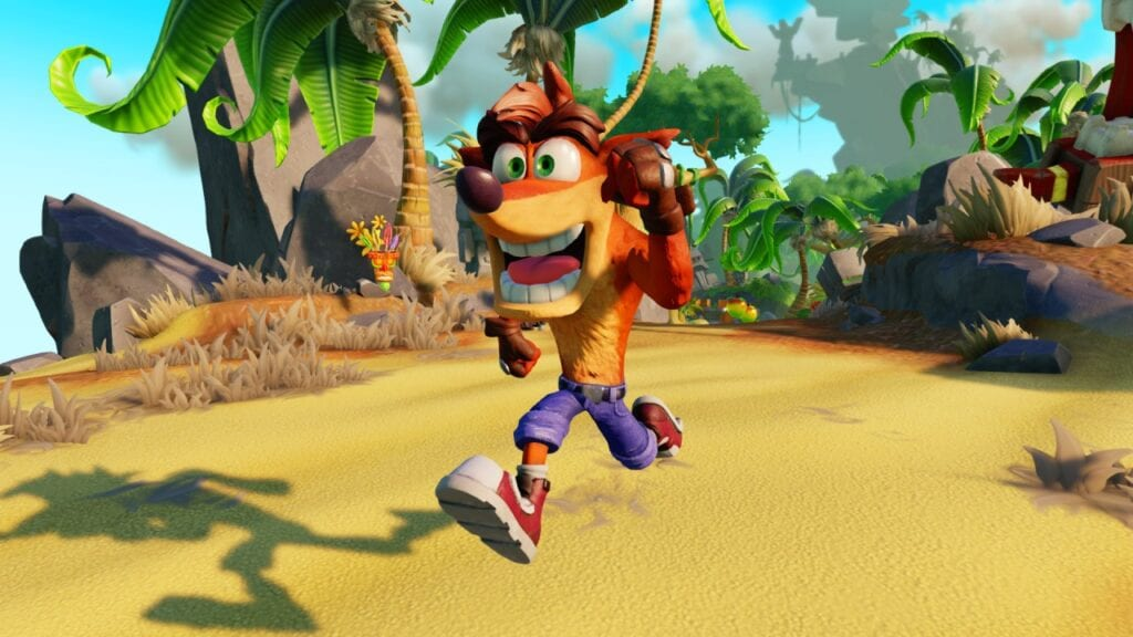 Crash Bandicoot Trilogy Compared