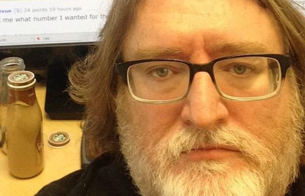 Gabe Newell AMA Header