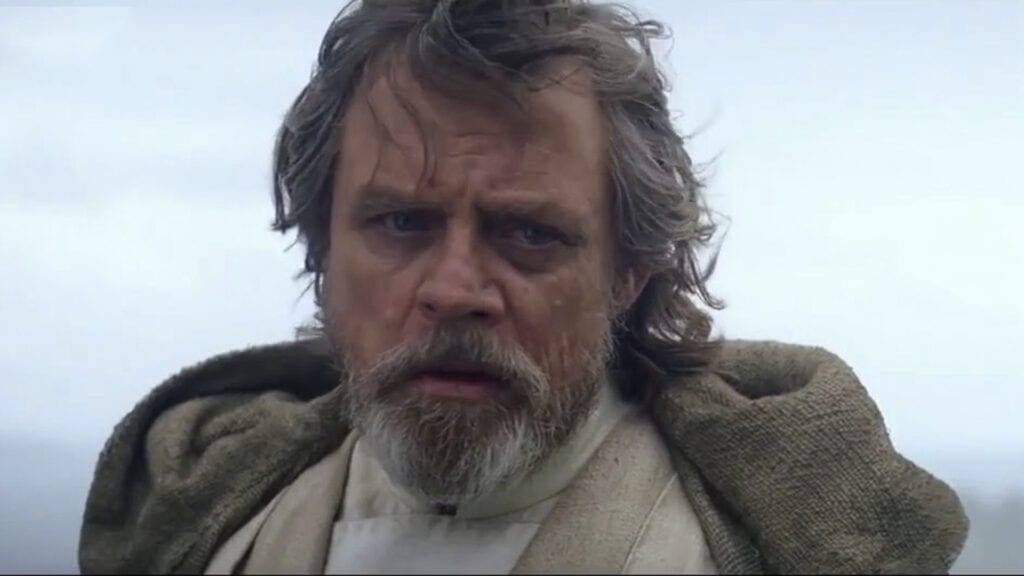 Last Jedi footage