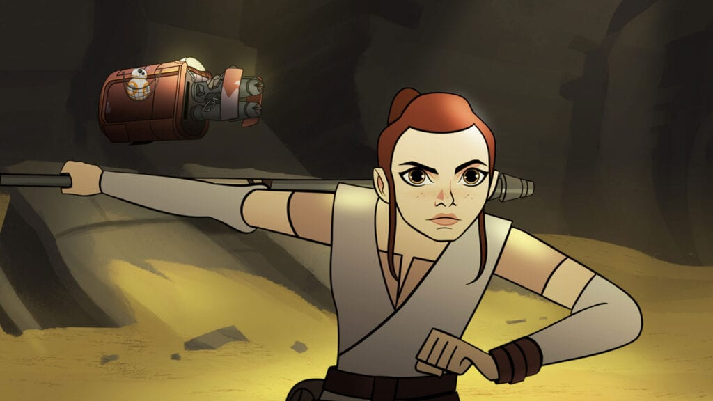 Animated Star Wars