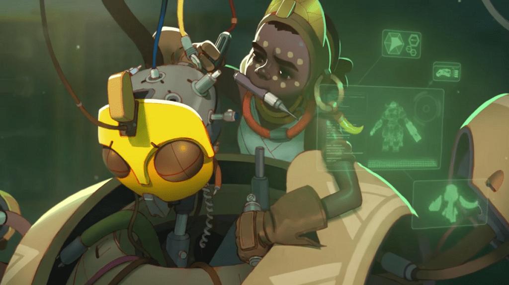 Overwatch Character Representative