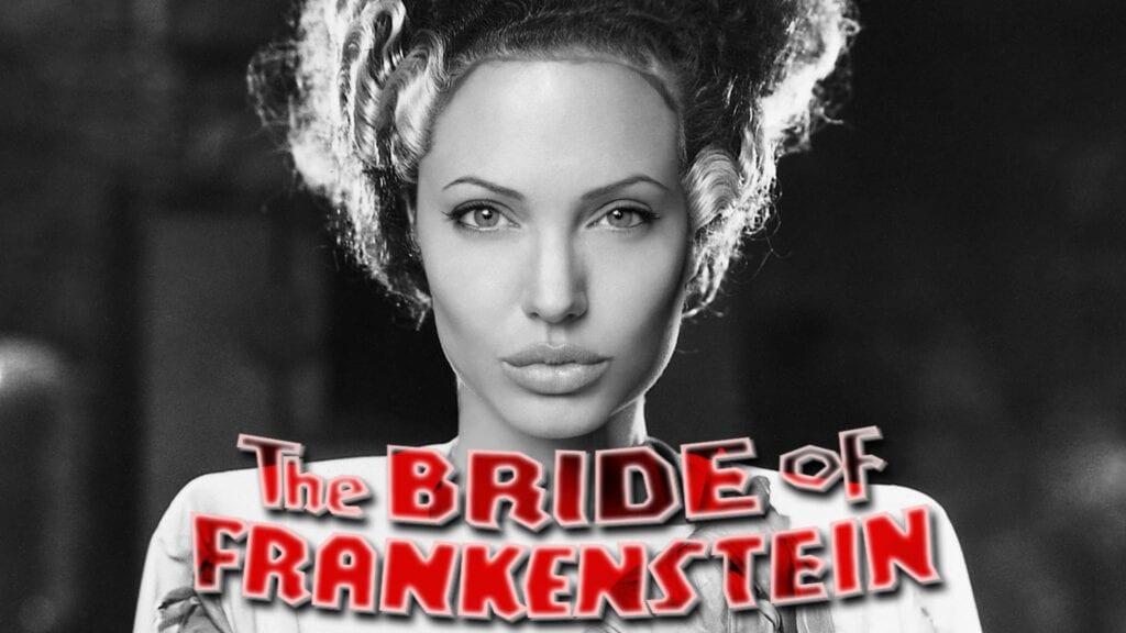 Angelina Jolie Bride of Frankenstein