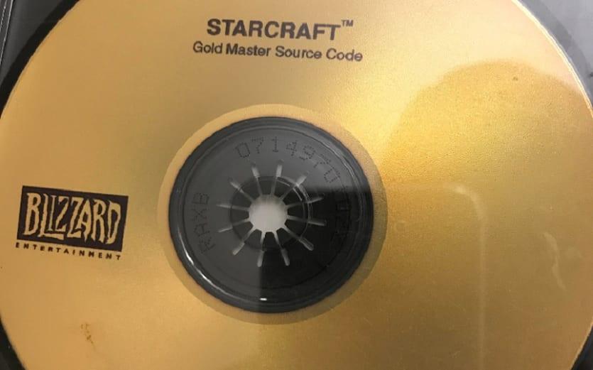 StarCraft Source Code Disc