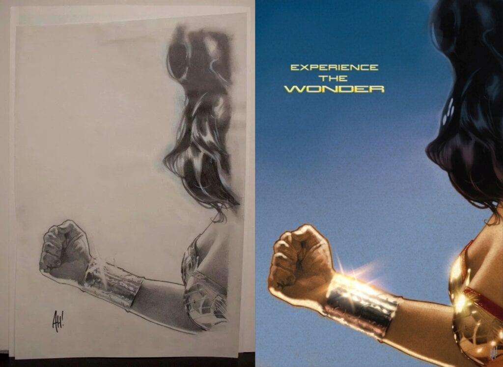 joss whedon's wonder woman script Original promotional art for Whedon's Wonder Woman movieby artist Adam Hughes