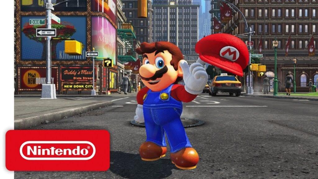 Super Mario Odyssey release date leak