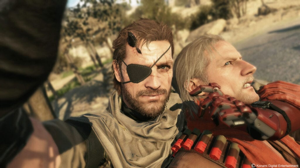 Metal Gear Solid 5 update