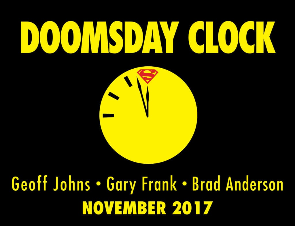 Doomsday Clock Art Teases Upcoming Story