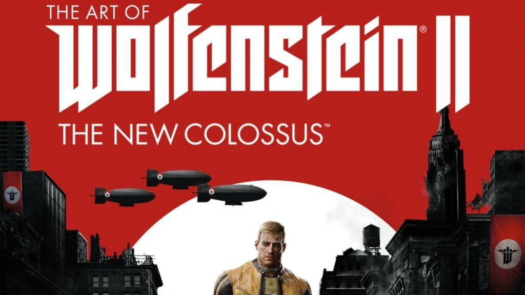 wolfenstein new colossus art book new colossus