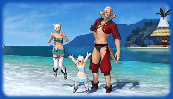 Final Fantasy 14's Moonfire Faire