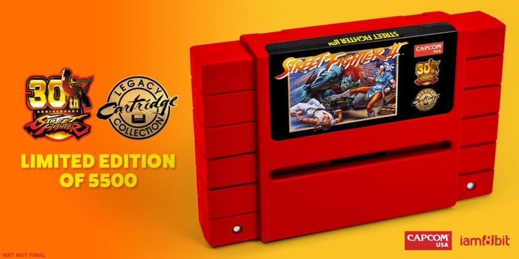 Street Fighter II SNES cartridge