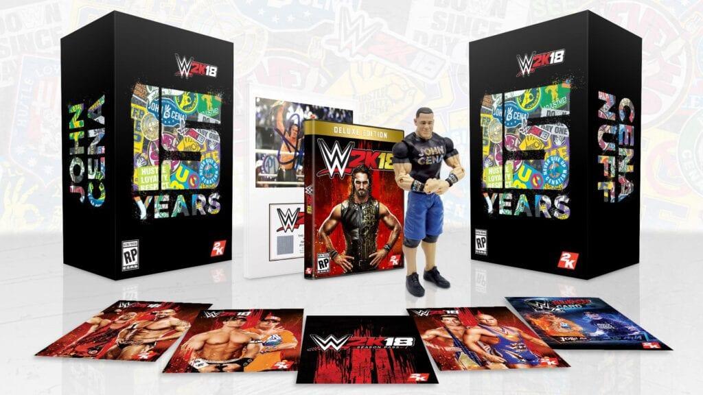 WWE 2K18 Cena Nuff
