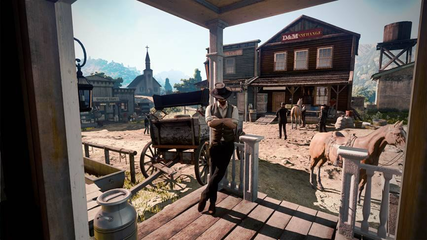Wild West Online early access