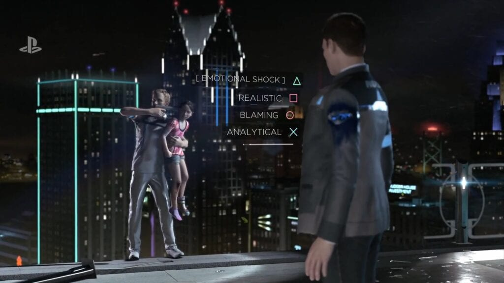 Become Human Gameplay trailer