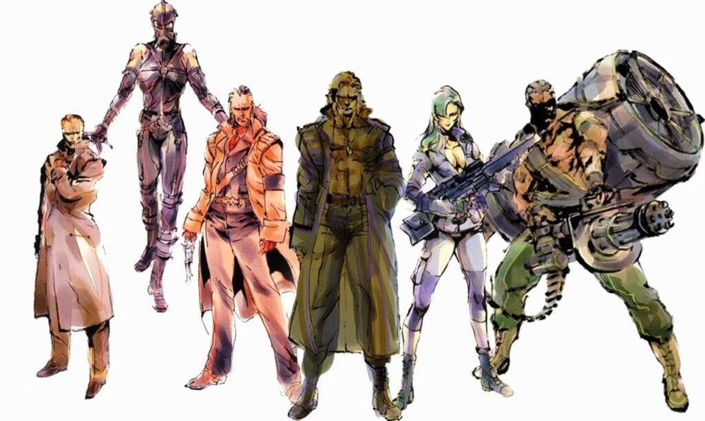 Metal Gear Solid Character Death Stranding