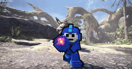 Monster Hunter Mega Man